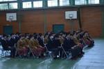 中学卒業式予行