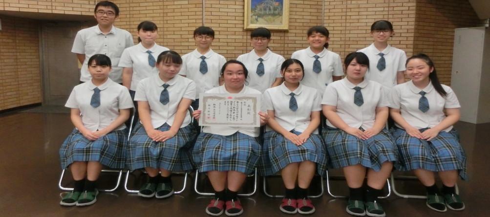 合唱部 九州合唱コンクール県予選 金賞受賞