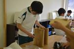 中学2年生 木工製作